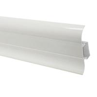Пластиковий плінтус Premium Decor Білий 302m
